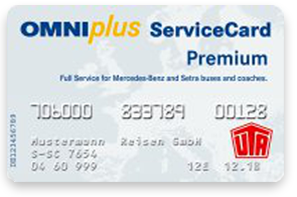 Omni Plus Service Card